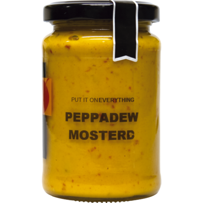 Peppadew Pikante pepers mosterd