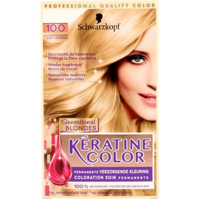 Schwarzkopf Keratine Color 10.0 Licht Natuurlijk Blond