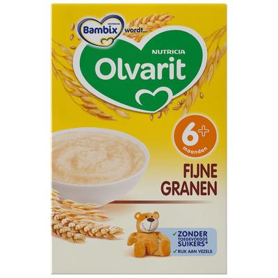Olvarit Zonnige ontbijtpap fijne granen 6 mnd