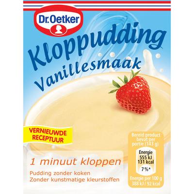 Dr. Oetker Kloppudding vanille