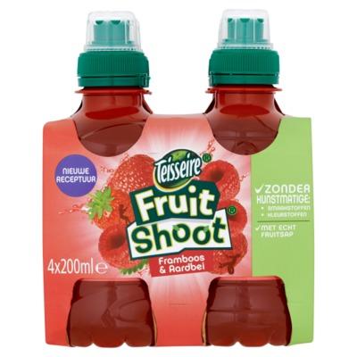 Robinsons Fruit Shoot aardbei framboos 4-pack