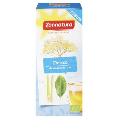 Zonnatura Detox verfrissende thee