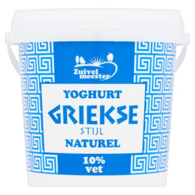Zuivelmeester Griekse stijl yoghurt 10%