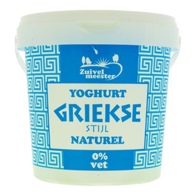 Zuivelmeester Griekse stijl yoghurt 0%