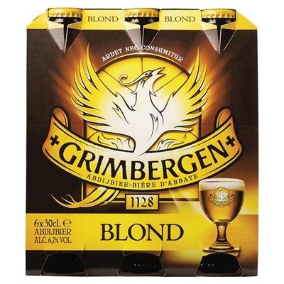 Grimbergen Bier Blond 6x30CL