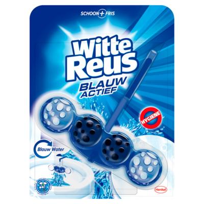 Witte Reus Blauw Actief Hygiene Toiletblok 50 g