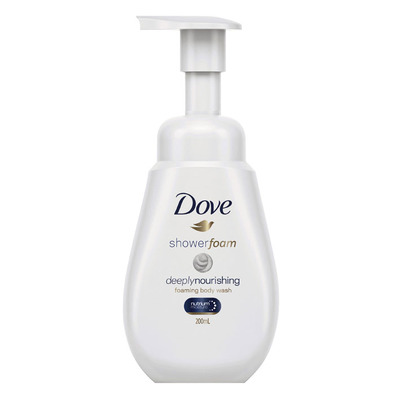 Dove Shower foam deeply nourishing
