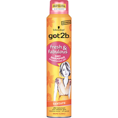 Got2b Dry shampoo texture