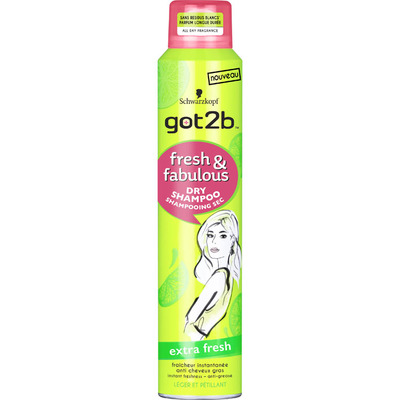 Got2b Dry shampoo extra fresh