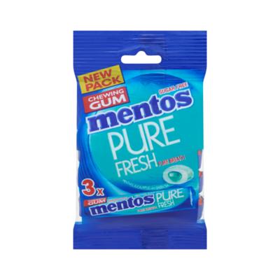 Mentos Gum Pure Fresh Menthol Eucalyptus Rol