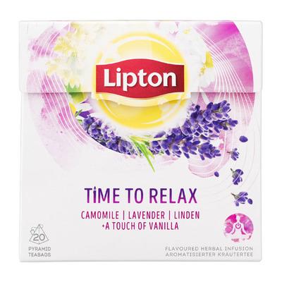 Lipton Kruideninfusie time to relax