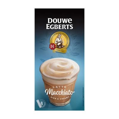 Douwe Egberts Verwenkoffie latte macchiato oploskoffie