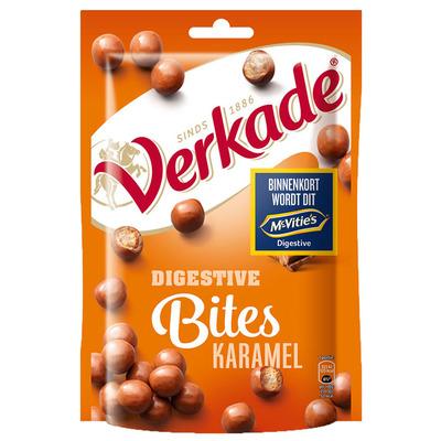 Verkade Digestive bites karamel