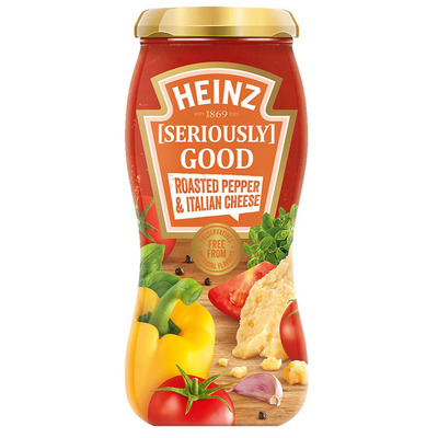Heinz Seriously good roasted pepper it cheese