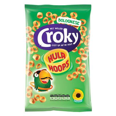 Croky Hula hoops Bolognese