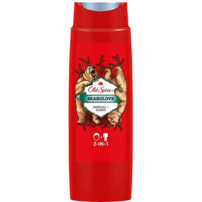 Old Spice Bearglove 2in1 shower gel + shampoo