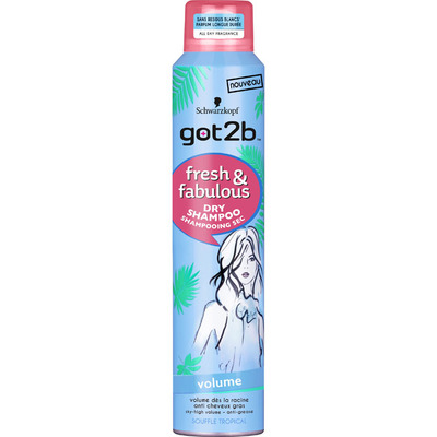 Got2b Dry shampoo volume