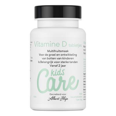Care Kids vitamine D tabletjes multifruit