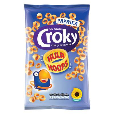 Croky Hula hoops paprika