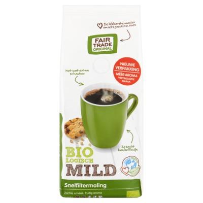 Fairtrade Original snelfilterkoffie mild 250 gram