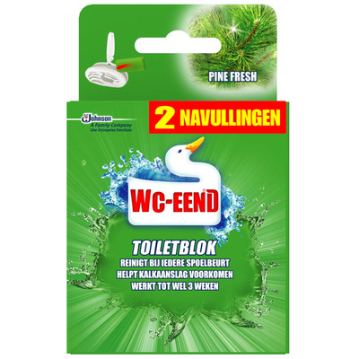 WC Eend Toiletblok pine fresh navulling