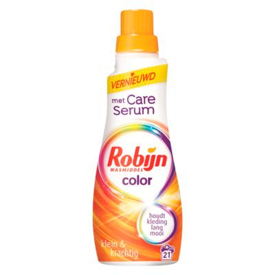 Robijn Klein & Krachtig Wasmiddel Color 21 Wasbeurten