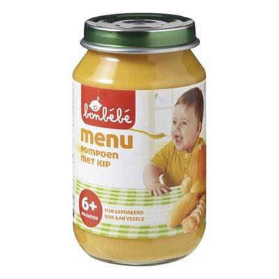Bonbebe Baby/Peuter Maaltijd Pompoen Met Kip