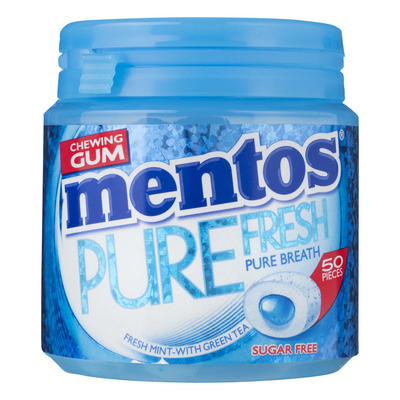 Mentos Gum Bottle pure fresh freshmint