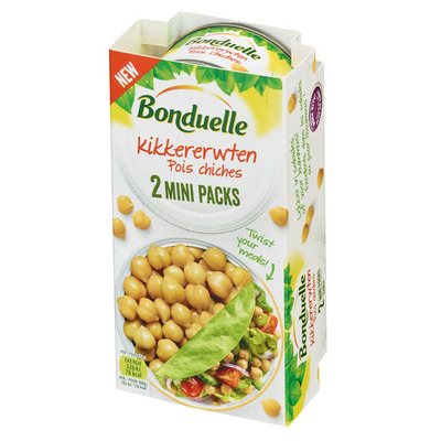 Bonduelle Kikkererwten mini packs