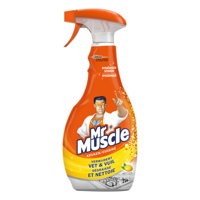 Mr Muscle Keukenreiniger lemon spray
