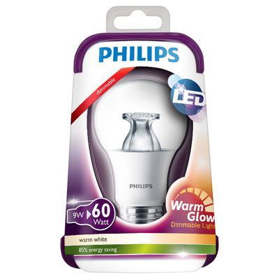 Philips Ledlamp warmgeel dim 60W E27 220-240V