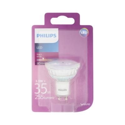 Philips LED Lamp Warm White 3,5W GU