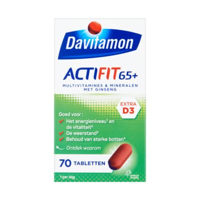 Davitamon Actifit 65+ 70 Tabletten