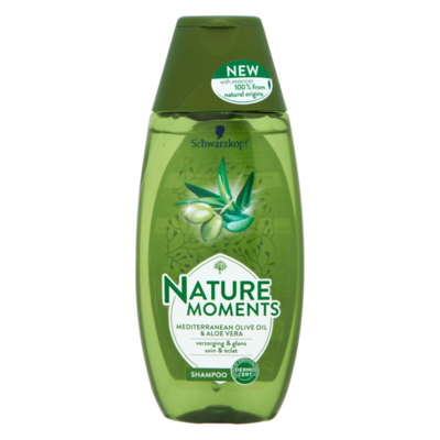 Schwarzkopf Nature Moments Mediterranean Olive Oil & Aloe Vera Shampoo