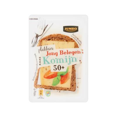 Jumbo Jong Belegen Kaas Komijn 30+ Plakken