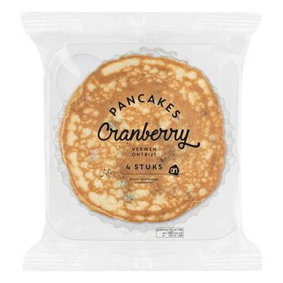 Huismerk Luchtige cranberry pannenkoekjes