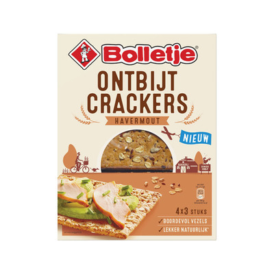 Bolletje Ontbijtcrackers havermout