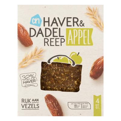 AH Haver & dadelreep appel