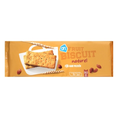 Huismerk Fruitbiscuits naturel