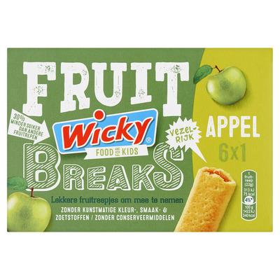 Wicky Fruit breaks appel
