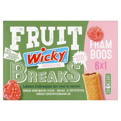 Wicky Fruit breaks framboos