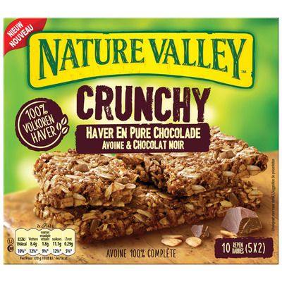 Nature Valley Crunchy haver en pure chocolade