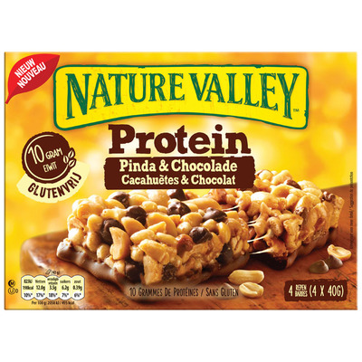 Nature Valley Protein pinda & chocolade