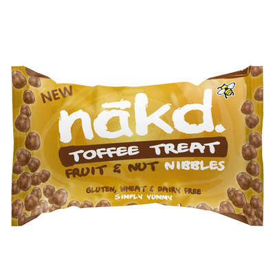 Nakd Nibbles toffee treat