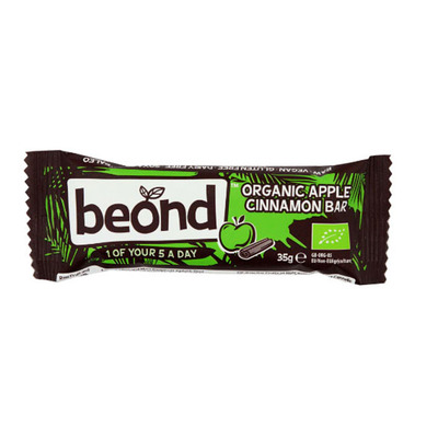 Beond Organic apple cinnamon bar bio