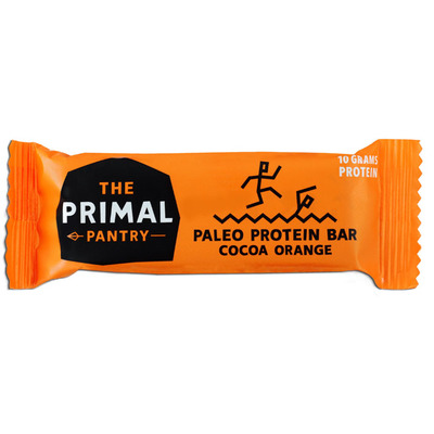 The Primal Pantry Cacao orange paleo protein bar