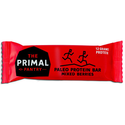 The Primal Pantry Mixed berries paleo protein bar