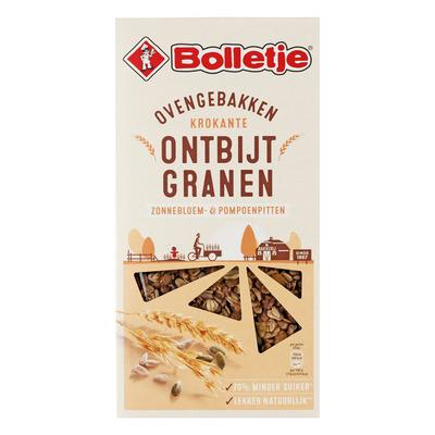 Bolletje Krokante ontbijtgranen met pitten