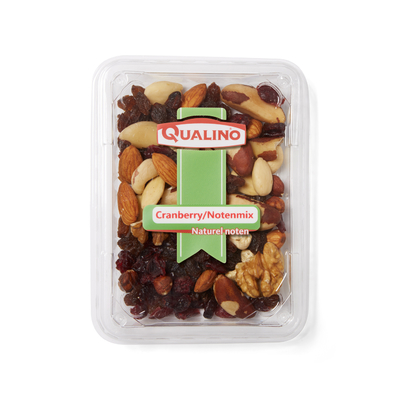 Qualino Cranberry/notenmix