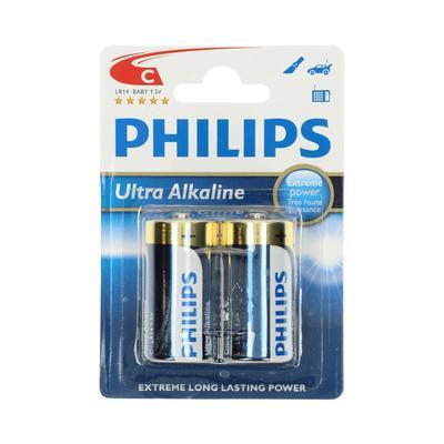 Philips Ultra Alkaline C 1,5v Bl 2st